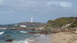 Cape Leeuwin Lighthouse  - where the Indian and the Southern Ocean  meet