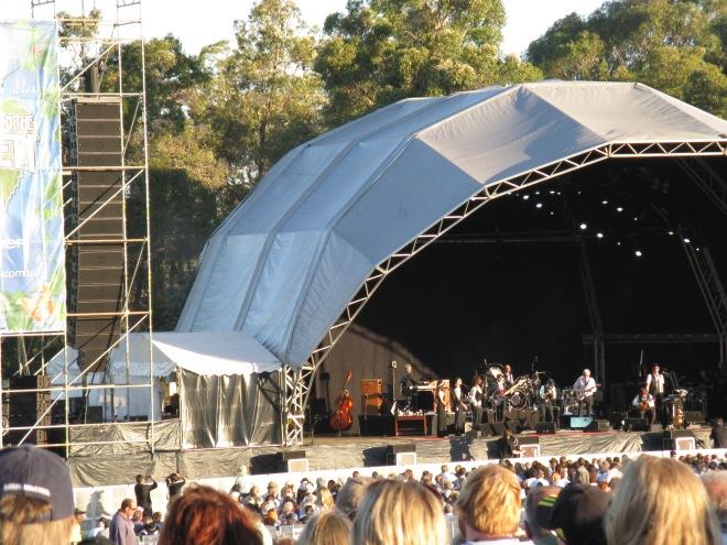 Leonard Cohen Concert -  Perth 2009