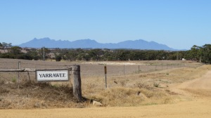 Stirling Ranges in background en route to Hopetoun
