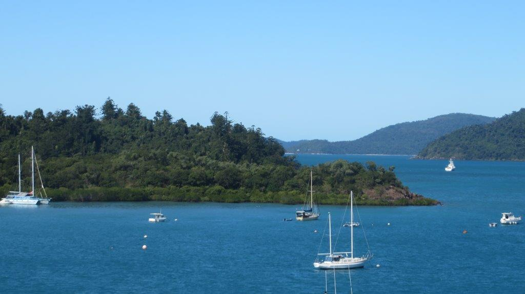 So many islands...and yachts