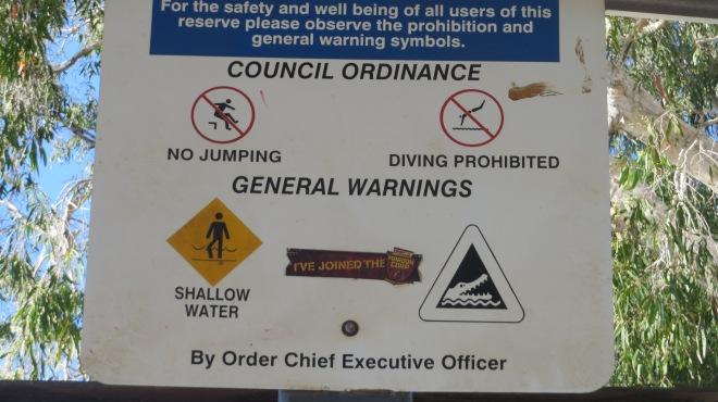 Warning...be aware