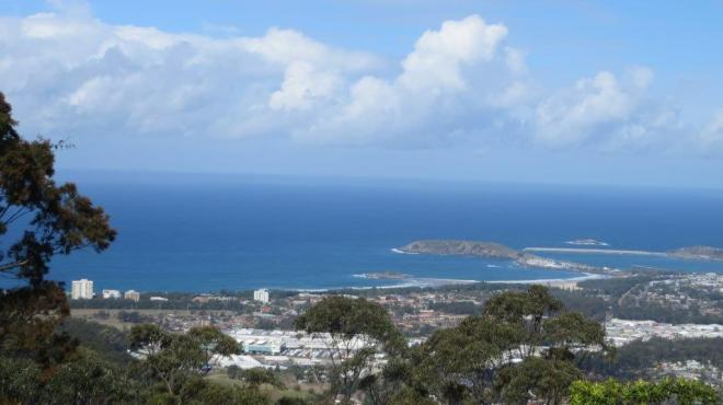 View to Coffs Harbour