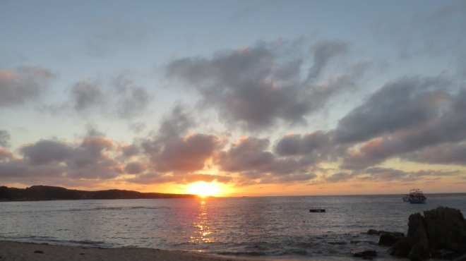 Sunset -Gracetown - The Bay, Margaret River Region, Western Australia