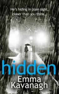 Book cover Hidden Emma Kavanagh