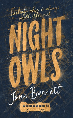 Book Cover Nights Owls -Jenn Bennett