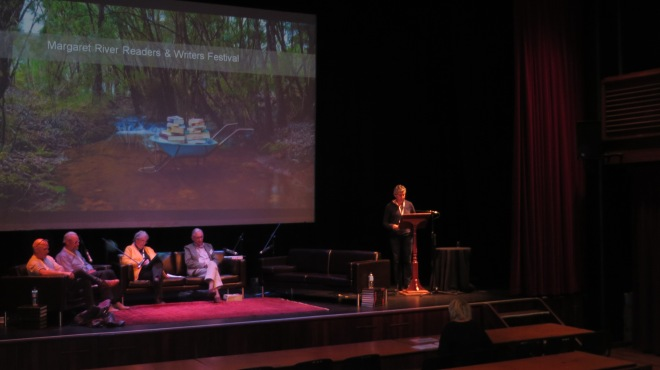 Margaret River Readers Writers Festival 2015 Panel The Season of Youth
