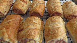 My Chicken & Feta Sausage Rolls