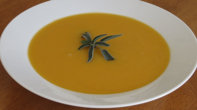 Pumpkin Soup with Warm Spices