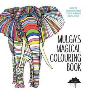 Mulga's Magical Colouring Book Mulga Cover