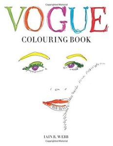 Cover Vogue Colouring Book