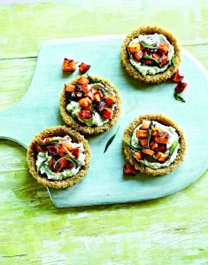 Quinoa Cheese Tartlets