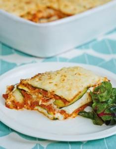 Courgette and Cannellini Bean Lasagne