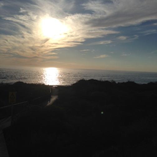 Sunset at Horrocks Beach