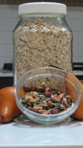 Carol's bircher muesli with a twist