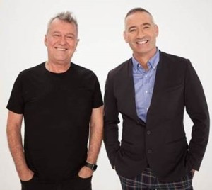 Jimmy Barnes and Anthony Field