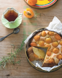 Olive Oil Rosemary Apricot Cake_pg185