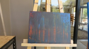 painting Australian Bush Fire