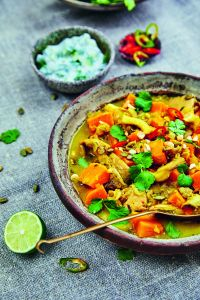 Sweet Potato Mushroom Curry