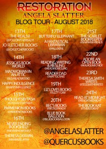 RRestoration blog tour poster