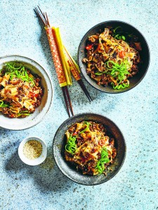 spicy xian pork noodles