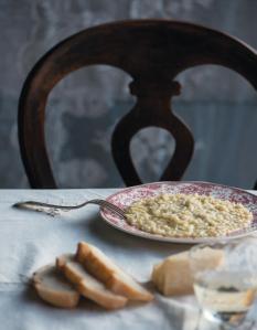 Cabbage risotto